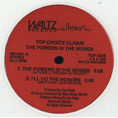 Top Choice Clique ‎– The Powers In The Words (1988, VLS, 192)