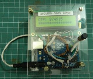 token com Arduino