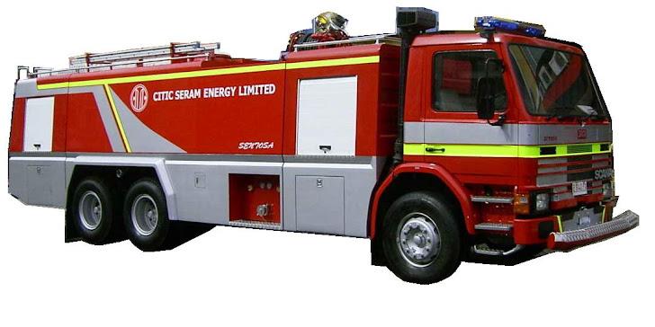 Truk pemadam kebakaran 14000 Liter