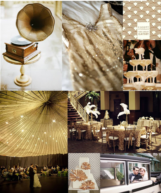 great gatsby, gold, gatsby inspiration board