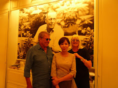 Jean-Loup & Merete in Bangkok with one of Kade's friends