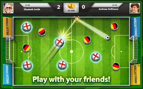 Soccer Stars, un adictivo juego de chapas online
