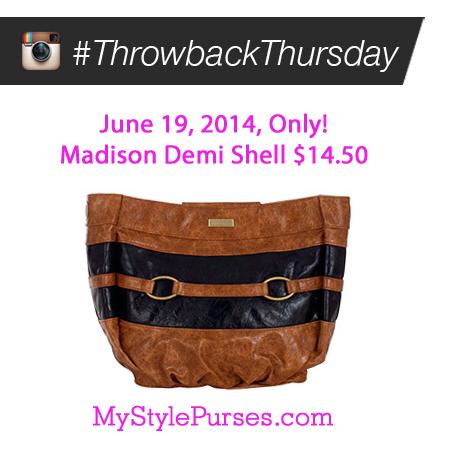 Miche Throwback Thursday June 19, 2014 | Shop MyStylePurses.com