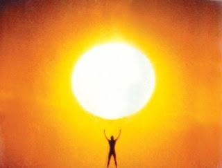 fotografia sol hombre