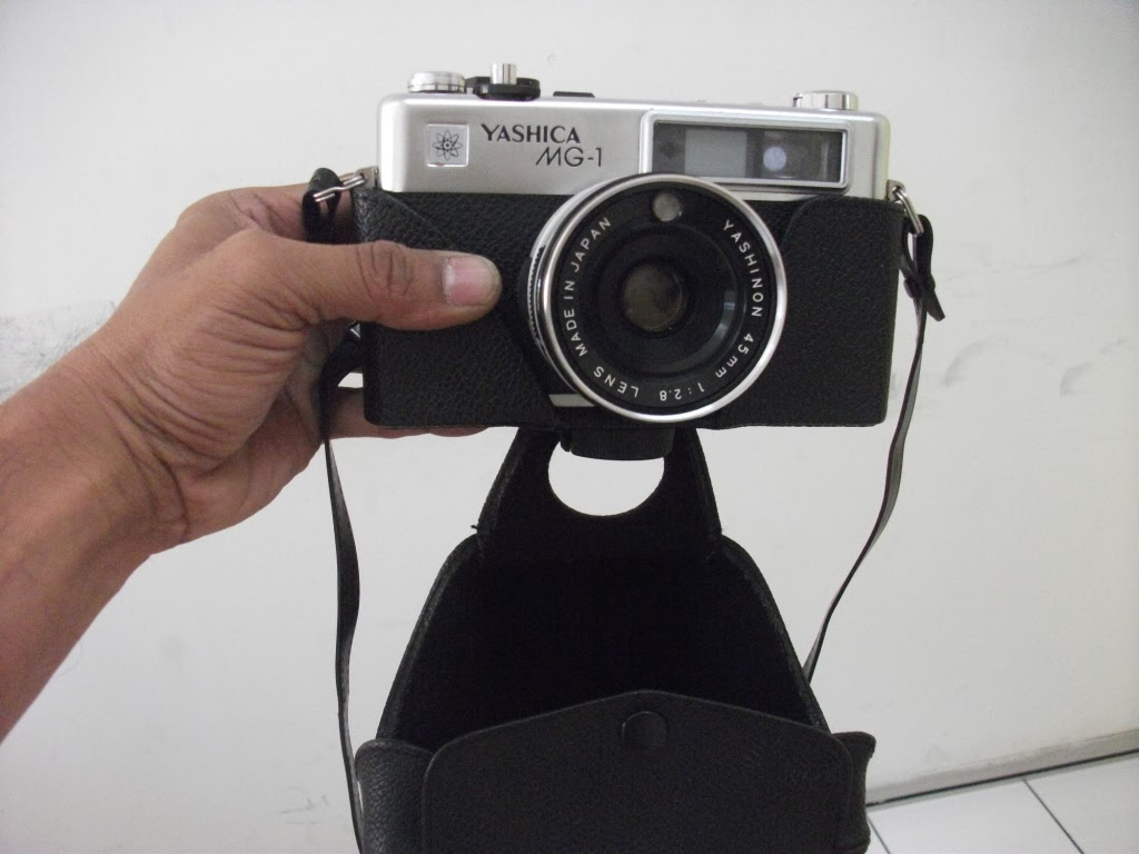 yashica mg-1 how to open