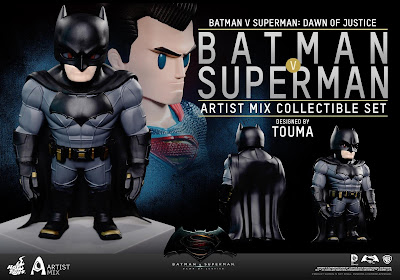 Batman v Superman: Dawn of Justice Artist Mix Figures by Touma & Hot Toys