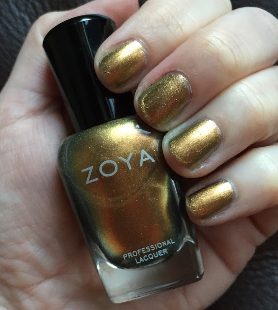 Zoya, Zoya Aggie, Zoya Fall 2015 Flair Collection, nails, nail polish, nail lacquer, nail varnish, manicure, #ManiMonday