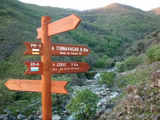 Rutas senderistas en la Reserva Natural