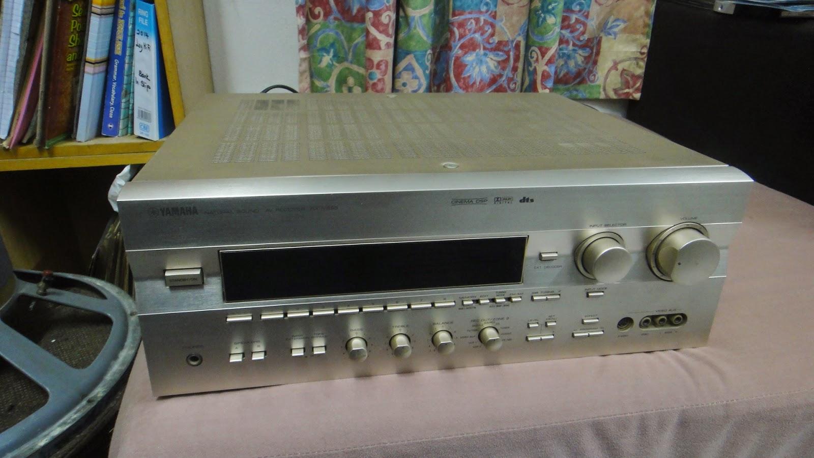 Yamaha rx v995 natural sound av receiver used sold for Yamaha receiver customer support phone number