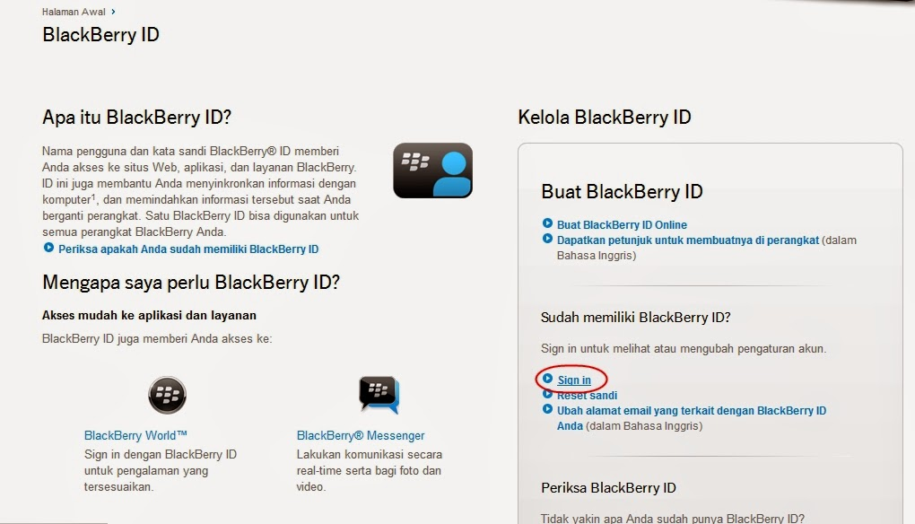 Cara Menghapus BlackBerry ID via PC atau Web