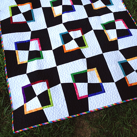 Mad as a Hatter Modern Quilt