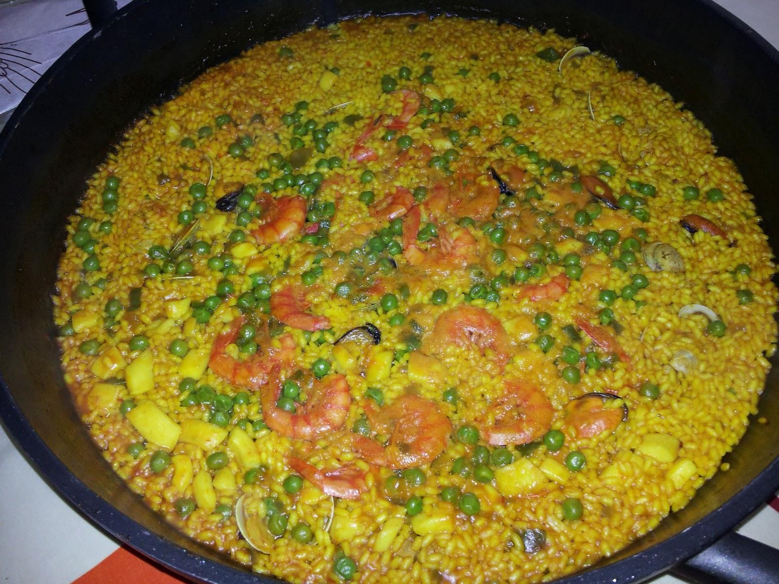 La cocina de roser - Arroz con pescado y verduras ...