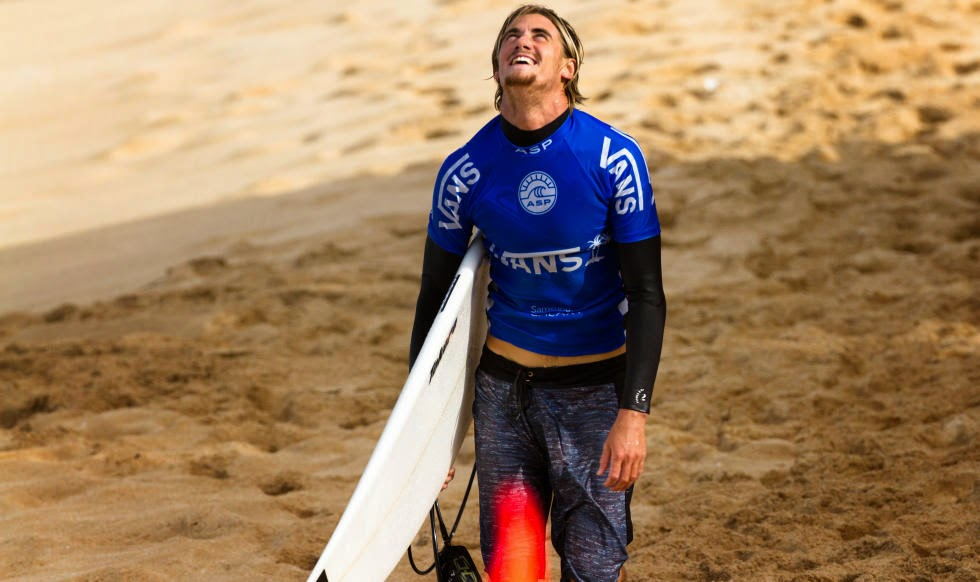 59 Vans World Cup of Sufing 2014 Beyrick De Vries Foto ASP