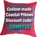 custom coastal pillow discount