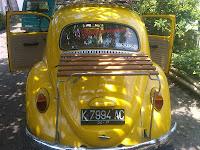 Pengambilan VW Kodok K 7994 AC Solo ke Balikpapan