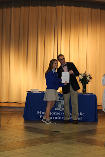Montgomery Catholic Inducts 35 New Members into National Junior Honor Society 2