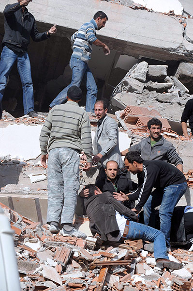 Turkey earthquake – in pictures