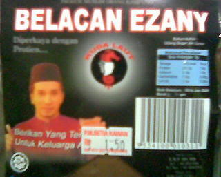 belacan ezany