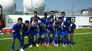 India U-16 win against Rosenheim U-16