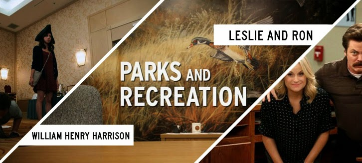 Parks and Recreation - William Henry Harrison & Leslie and Ron - Review