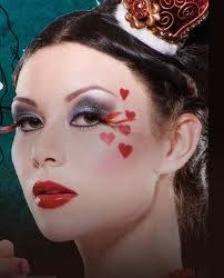 maquillaje reina de corazones disfraz