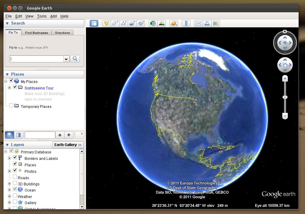 How to install google earth on ubuntu 1110 oneiric ocelot gumiabroncs Images