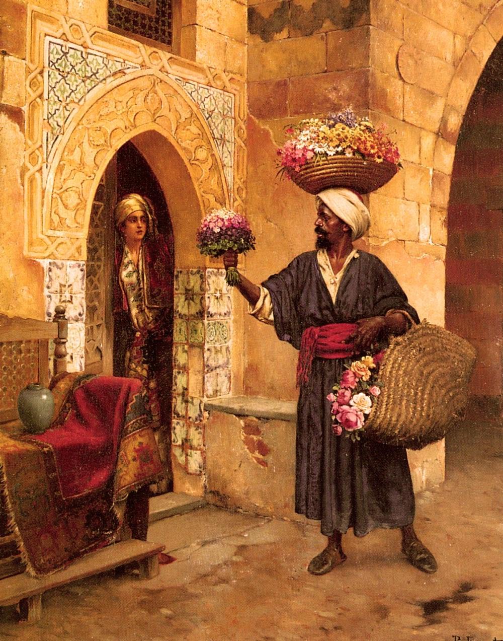 Rudolf Ernst Le Marchand de Fleurs