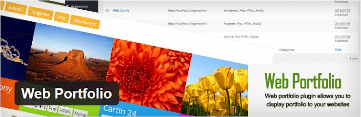 Web Portfolio plugin