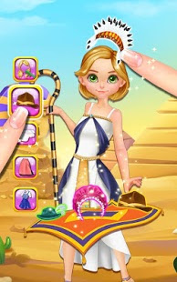 Screenshots of the Style Doll: Fashion World Tour for Android tablet, phone.