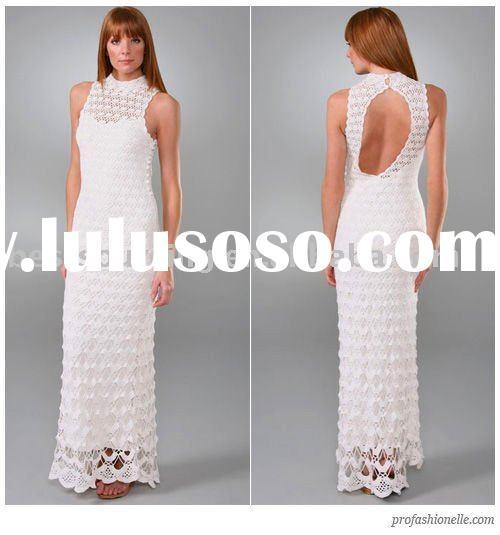 Crochet Patterns Free Wedding Dress : 1000+ images about CROCHETED WEDDING DRESSES on Pinterest ...