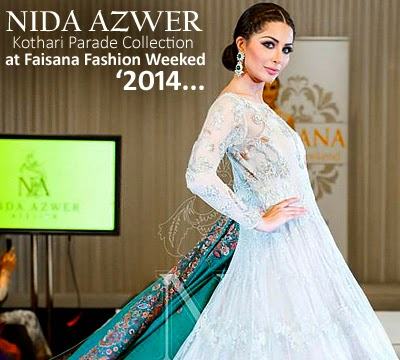 Nida Azwer Kothari Parade Collection at Faisana Fashion Weekend 2014