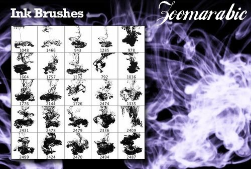 Download 25 High  Photoshop Brushes