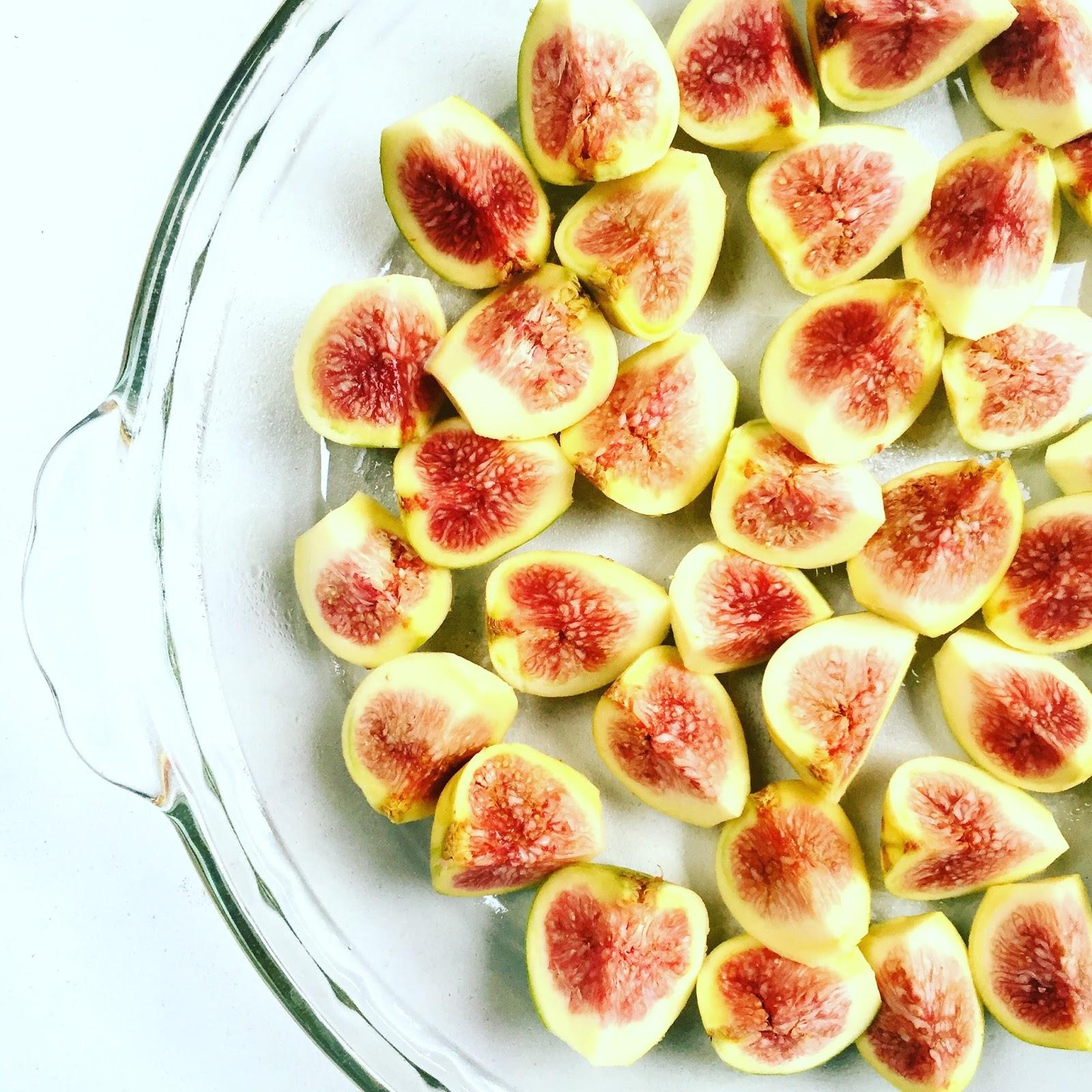 Roasted Fig, Ricotta, Pistachio & Honey Crostini