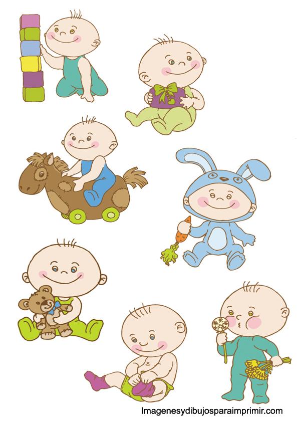 dibujo de bebe baby shower para imprimir imagenes y