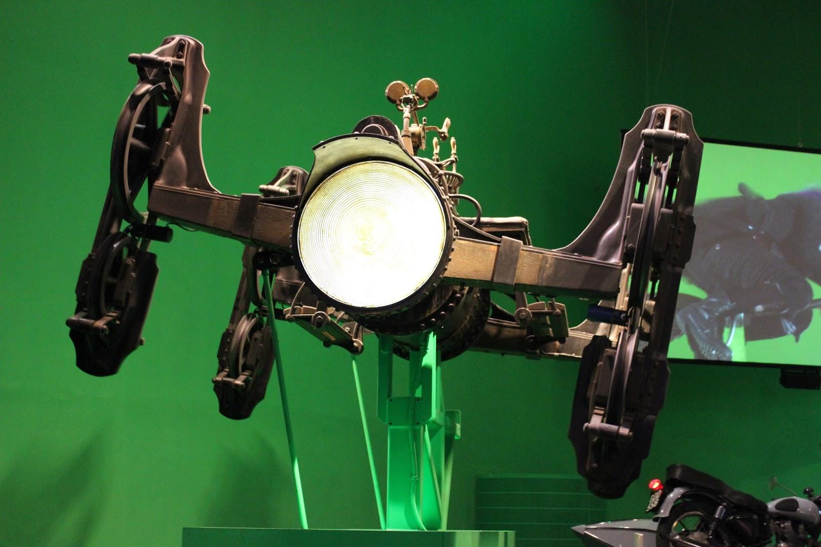 Harry Potter studio tour london green screen car