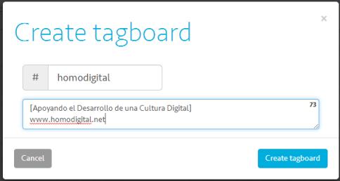 Create Tagboard