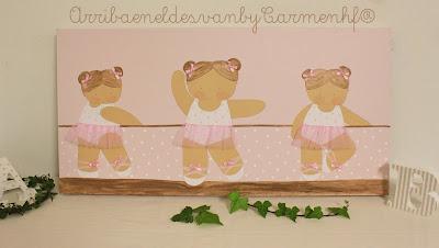 cuadro bailarinas ballet