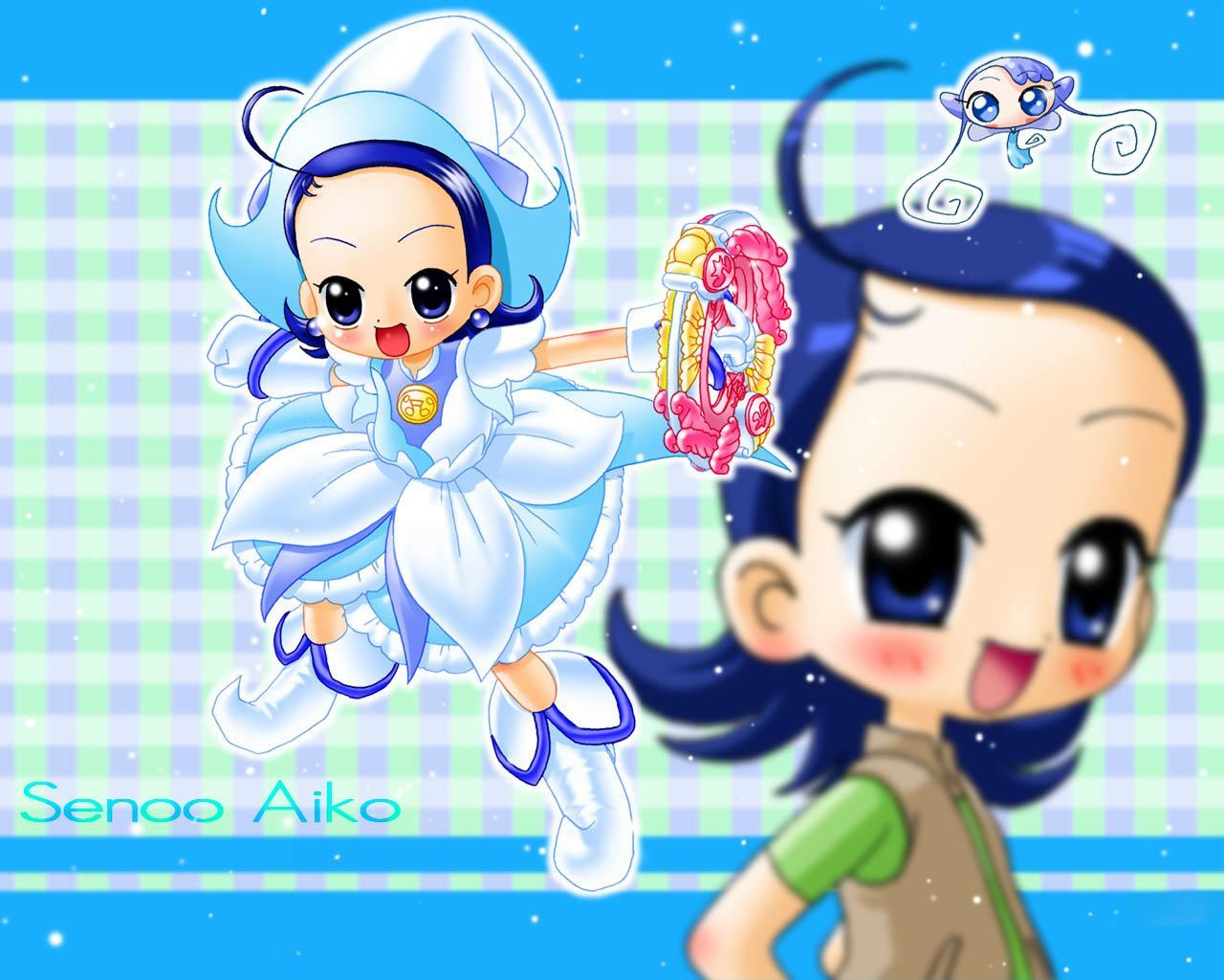Venham falar sobre o Mangá Ojamajo Doremi! Senoo+Aiko