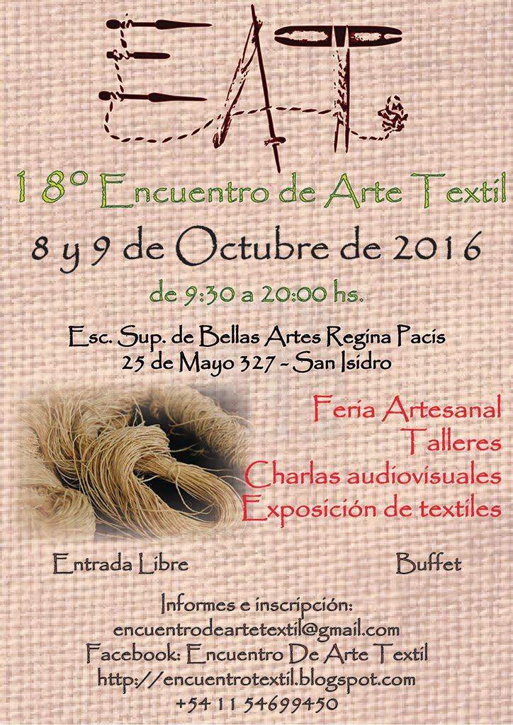 18° Encuentro de Arte Textil