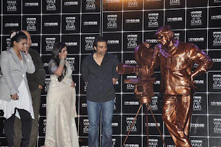 Rani Mukherjee at Yash Chopra's Statue unveiled event