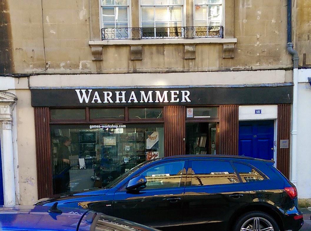 Games Workshop store renamed 'Warhammer'