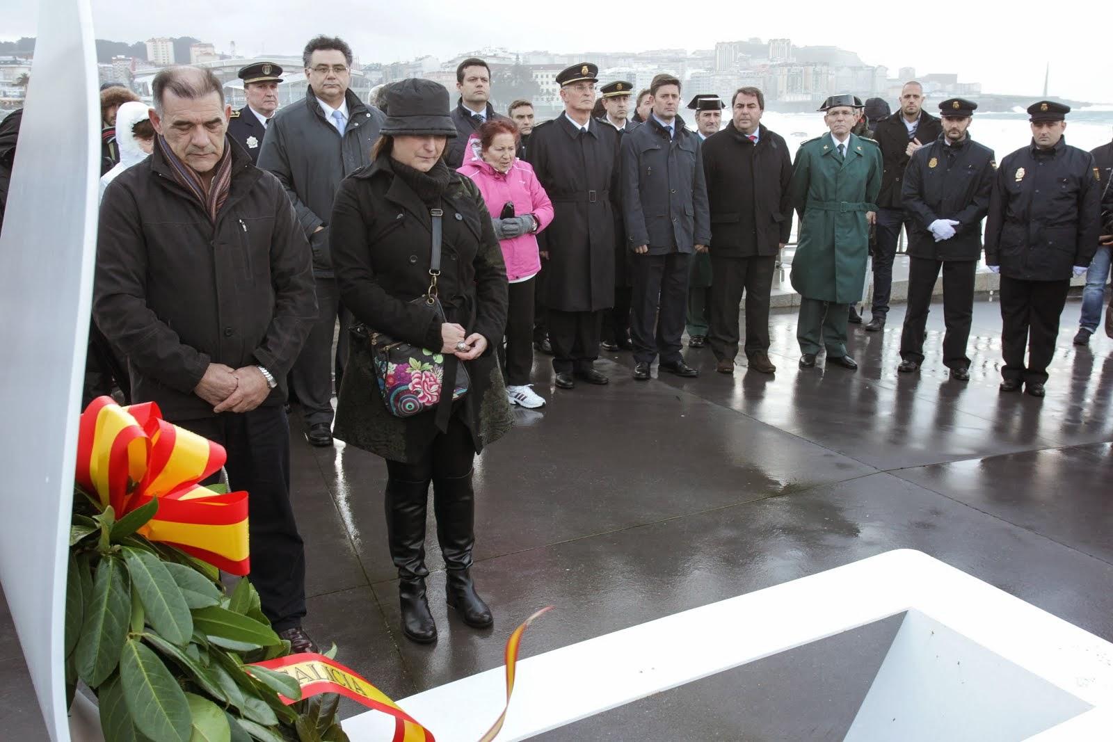 Homenaje a los héroes del Orzán