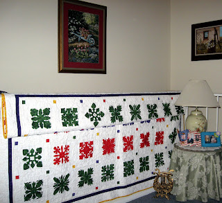 Exchange Quilt On Display