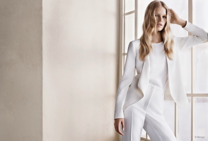 Mango Spring/Summer 2015 Campaign featuring Anna Ewers