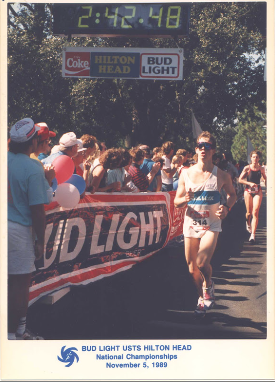 Bud Light USTS U.S. Triathlon Series National Championship on Hilton Head Island 1989.
