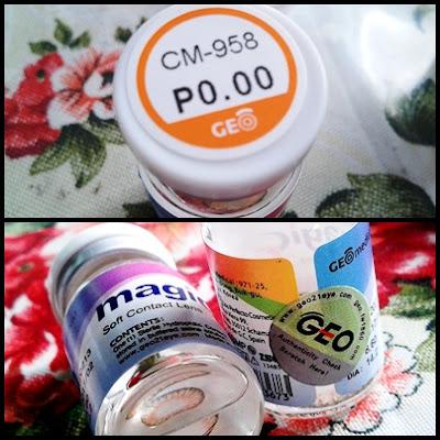 Geo Contact Lenses CM-958