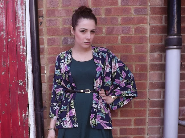 What Cat Wore: Transitional Florals
