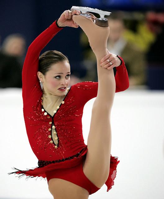 Figure skating crotch shots