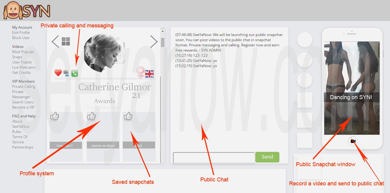 Snapchat Online - Public Snapchat Chatroom Firefox/Chrome