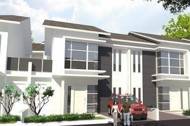 Desain Perumahan 2 Lantai Model Rumah Minimalis Type 80/152